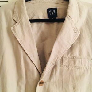 GAP linen men's sport style jacket never worn Lg.
